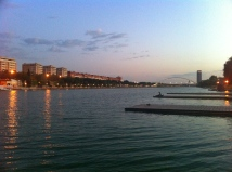 Rowing in Seville